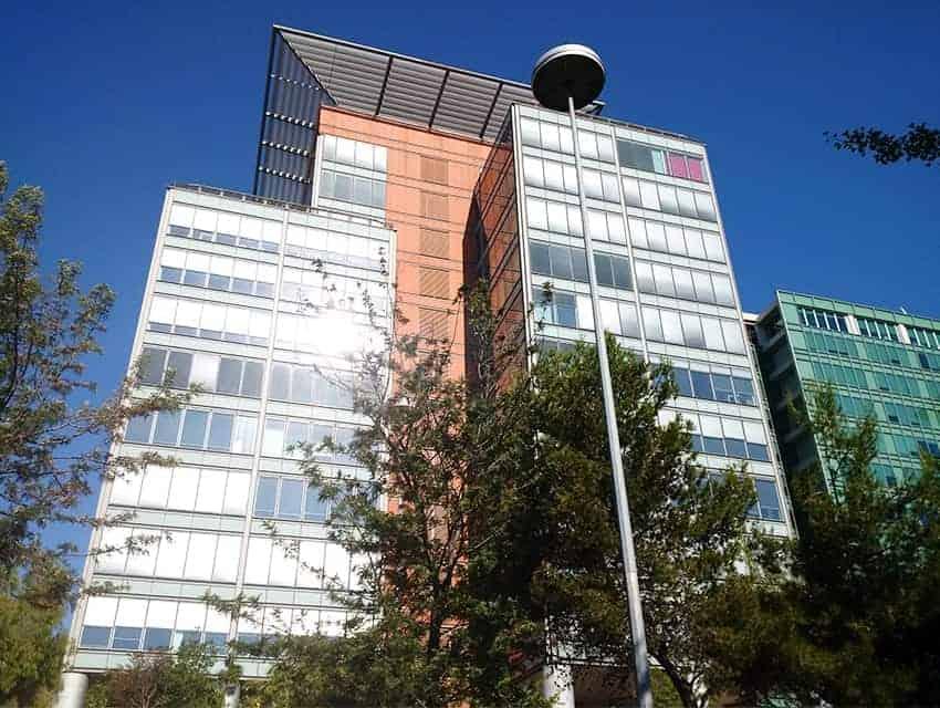 Lisbon's Torre Zen Office Building